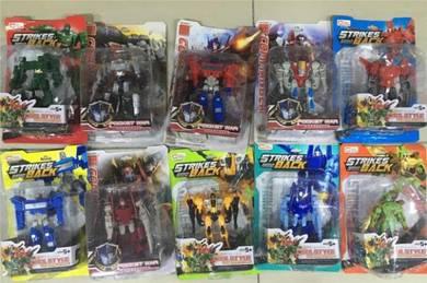 Choose 3 robot toys (Pilih 3 mainan robot) vehicle