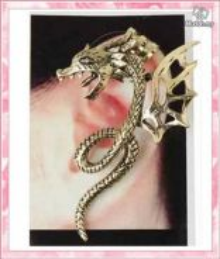 ABEB-D001 Bronze Individuality Dragon Cuff EarClip