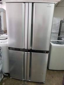 Sharp fridge side by side doors Refrigerator