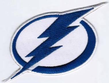 Tampa Bay Lightning NHL Hockey League Patch