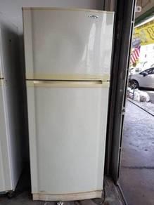 Fridge Freezer Gold Star Refrigerator Ais Sejuk