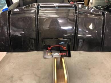 Mercedes W205 C205 Carbon FIber PSM Rear Diffuser