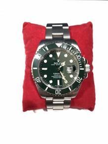 Hulk Submariner Stainless Steel Bracelet Watch
