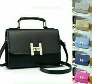 Happy Handle Sling Bag