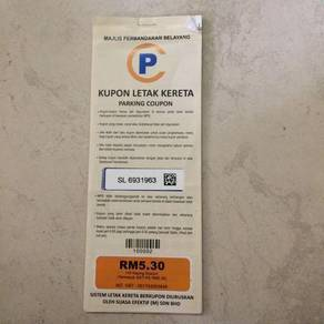 Parking Coupon Selayang