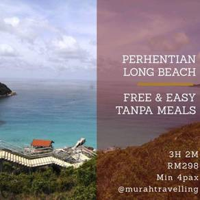 Perhentian Long Beach Free and Easy