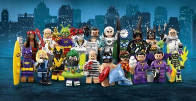 LEGO BATMAN MOVIE MINIFIGURES SERIES 2 (Sealed)