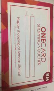 ONECARD Gift Card exclusive shopping voucher