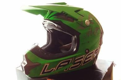 Full Face MOTOCROSS Laser Helmet