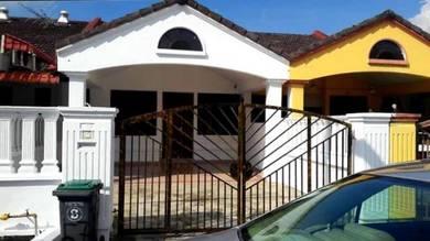 Perling 1.5 storey jln rawa ( full loan house )