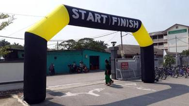 Start finish inflatable arch