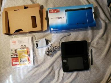 Nintendo 3DS XL Blue/Black