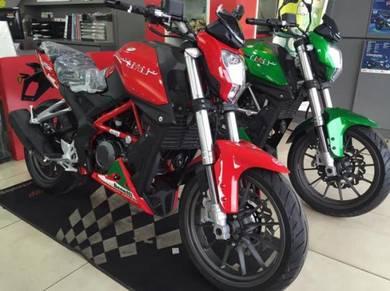 Benelli TNT25 ~ Lucky Draw Bike ~ Mileage 0