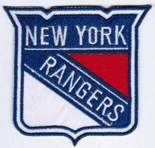 New York Rangers NHL National Hockey League Patch