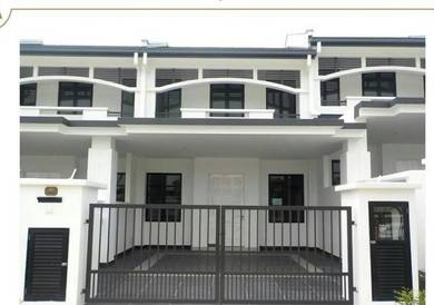Cheapest with grill 2sty terrace house Eco Majestic Semenyih