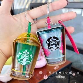 Starbucks Korea Summer Mini Cup Keychain