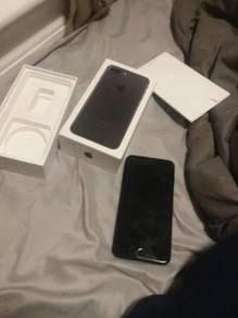 Complete iphone 7plus 128gb ori myset, sealed