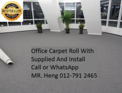 Office Carpet Roll install for your Office 37NS