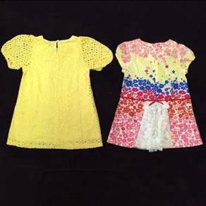 Girls' apparel with unique design