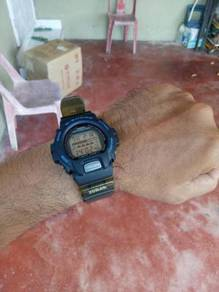 G-Shock DW6620 Fox Fire Scorpion Biru Vintage Rare