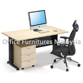 4ft Office Executive Writing Table OFMQ1270 SET KL