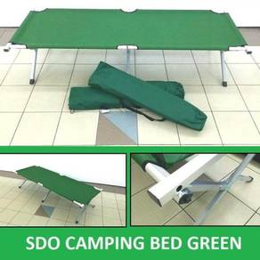Sdo camping bed green