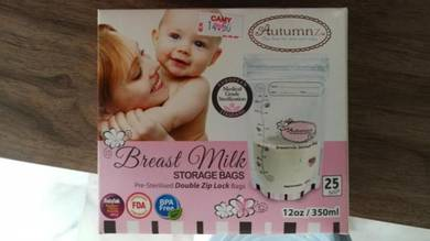 Autumn Breast milk storage bag