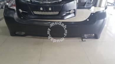 Toyota wish facelift bodykit front n rear bumper 4