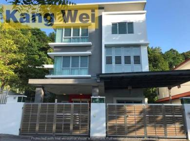 Land 6535sf Triple Storey BUNGALOW with Lift CANGKAT MINDEN Gelugor