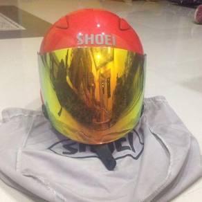 SHOEI Jstream shine red copy ori