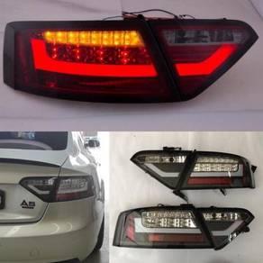 Audi A5 08-12 Led Tail Lamp Light Bar Black Taiwan