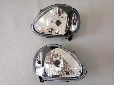 Lampu Depan Head Lamp Smoked KELISA - BARU
