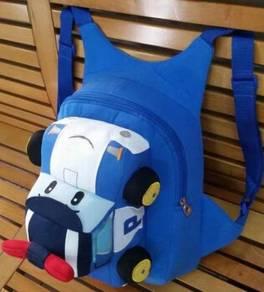 Cute Soft Robocar Poli Bag Backpack