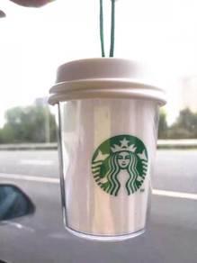 Starbucks Christmas LED Siren Ornament Mini Cup
