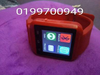 Smart watch red