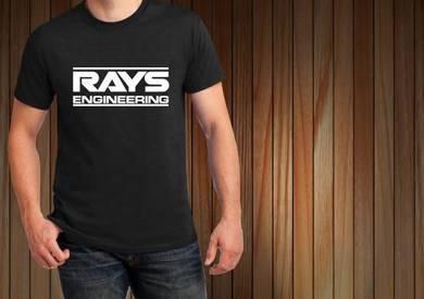 Baju T-Shirt RAYS ENGINEERING NSQ94 siap poslaju