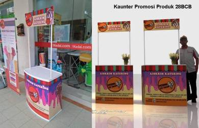 Bina Sampling Kiosk 28BCB6 + Print Custom Grafik
