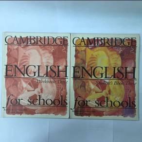 Cambridge English textbooks