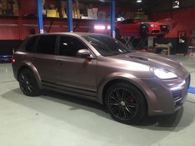 Porsche cayenne 2004-2006 facelift conversion
