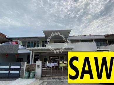 Pantai Jerjak 2 Storey Terrace FREEHOLD 2600sf , Sri Nibong
