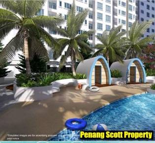 CHEAPEST SOHO resort style facilities Monthly installment RM1,000++