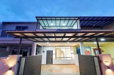 Tmn Scientex Senai 2 Stry Terrace House For Sale