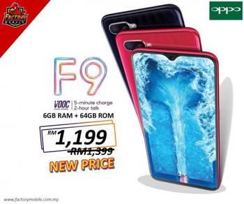 New Oppo F9 [ 6+64GB ] Ori Foc Case