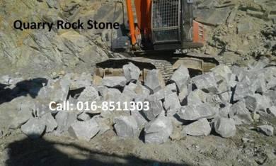 Garden soil tanah timbus sand stone batu pasir