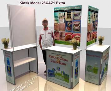 Bina Sampling Kiosk + Printed Panel