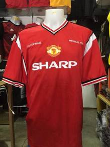Manchester United Home Jersey Adidas 1985 Repro