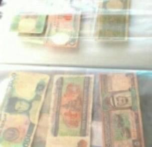 My collection duit kertas