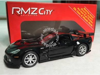 Chevrolet Corvette C6-R 1:36 diecast car (black)