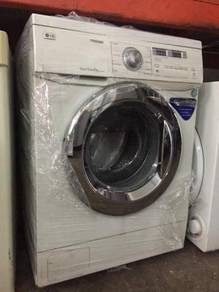 8kg LG Mesin Basuh Washing Machine Front Load Auto