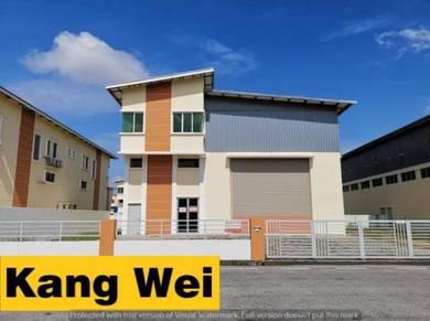Light Industrial Ringan-Warehouse-Factory-Bukit Minyak-Prai-Kilang